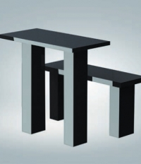 Стол с лавкой TSK90